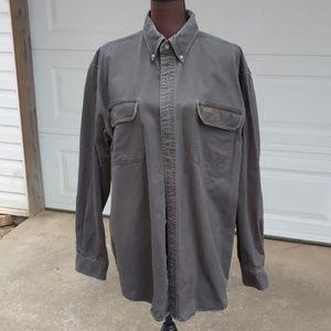 Carhartt Sandstone Twill Button Down Shirt